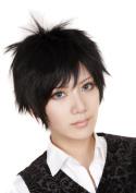 FENGSHANG Lolita and Beauty Durarara Orihara Izaya Cosplay Short Wigs 36cm Black