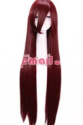 100cm Straight Anime Cosplay Costume Wig Many Colours Can Choice Hx