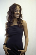 RnB Collection Synthetic hair lace front wig, AQUAMARIN Colour #24-27