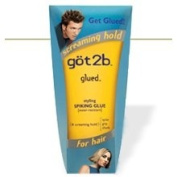 Got2b Glued Styling Spiking Glue,SCREAMING HOLD, 180ml