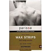 Parissa Men's Tea Tree Wax Strips - 20 Strips - HSG-522094