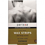 Parissa Men's Tea Tree Wax Strips - 20 Strips - HSG-522094
