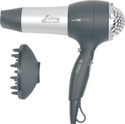 Clatronic Professional Hairdryer with 3 Temperature Settings
