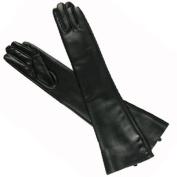 New Hot Sexy Black PU Long Arm Warmer Dress Up Gloves /Lady Gaga Gossip Girl Kim Size L