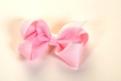 Small Mini Bow Hair Clips Set of 2
