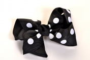Large 10cm Boutique Bow Clips