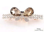 . Oyang Fashion Butterfly Jewellery Crystal Hair Clips Hairpin K- for hair clip hairpins Beauty Tools