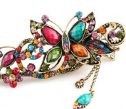 Lovely Vintage Jewellery Crystal Butterfly Hairpins Hair Stick- For Hair Clip Beauty Tools