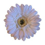 Gerbera Daisy Artificial Flower Hair Clip/Pin Brooch
