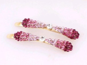 . 2PCS Oyang Fashion Jewellery Crystal Hair Clips Hairpin - for hair clip hairpins Beauty Tools