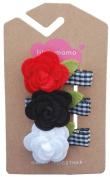 Flower Trio Hair Clip (Picnic)