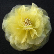 Sara Monica Flower Hair Clip and Pin Beauty