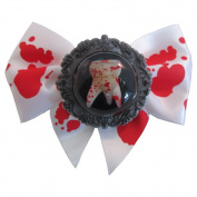 Kreepsville 666 Breaking Teeth Hair Bow