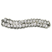Lisbeth Dahl Hairclip with Clear Crystals