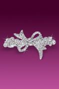 Clear Rhinestones Pretty Hairclip Hair Clip in Beautiful Bow Design