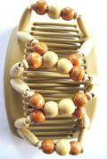 African Butterfly Hair Clip EZ Magic Combs Handmade Hairclip Hair Accessory for Buns, Ponytails