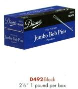 Diane Jumbo Bob Pins 6.4cm Black #492