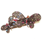 . Lovely Vintage Jewellery Crystal Butterfly Bowknot Hairpins Hair stick - for Hair Beauty Tools