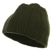 New Rasta Knit Head Band - Olive
