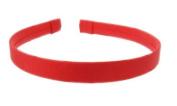 L. Erickson USA 1.3cm Ultra Comfort Headband - 100% Silk Shantung