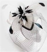 Fascinator Flower Feather Headband