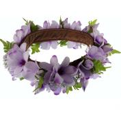 The Purple Hawaii Plumeria Headband