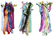 Wholesale Stretch Elastic Headband Ties Assorted Set of 30