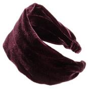 L. Erickson USA Silk Velvet Scarf Headband