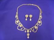 Audrey Hepburn Necklace & Earrings Set