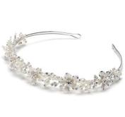 Rhinestone Silver Wedding Tiara Bridal Headband 215
