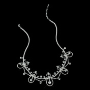 Abby Silver Face Jewellery Headpiece Wedding Bridal Tiara Headband