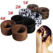 Pony Tail Bun Lint Hair Spiral Bun Hair Accessories