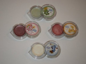 Care Bears Lip Tangerine Kiwi Raspberry Vanilla Balm Gloss 4 Pack