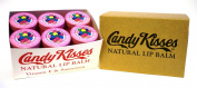 Candy Kisses Natural Lip Balm 24 Pieces