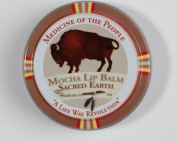 3 Tins of Navajo Medicine Of The People Mocha Lip Balm - Sacred Earth 20ml each, Outstanding Product