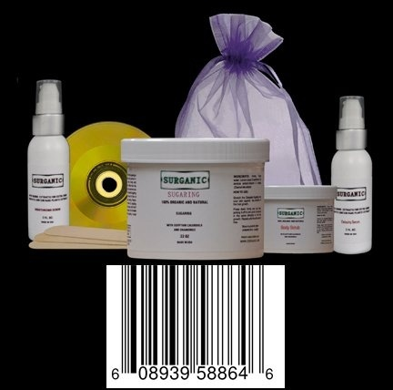 Cocojojo Egyptian 980ml Sugar Wax Hair Removal KIT , Sugaring Kit (6 Latex  Cloves 980ml of Body Sugaring 120ml of Body Scrub 60ml of Body Toner to