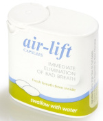 Air Lift CAPSULES Immediate Elimination Of Bad Breath 40 Capsules