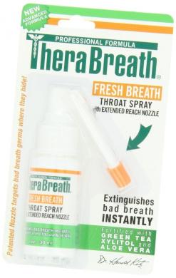 Dr. Katz TheraBreath Plus Oral Spray, with Zinc-RX and Tea Tree Oil , 30ml