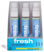 EO Refresh Certified Organic Breath Spray, 10ml