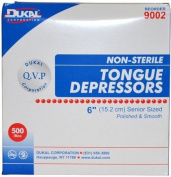 Tongue Depressors Wooden Non-Sterile 15cm x 1.9cm 500 Per Box by Medique - MS85510