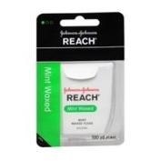 Reach Reach Waxed Dental Floss Mint 100 Yards, 100 Yards each