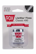 POH Dental Floss Classic White LiteWax 100 Yard