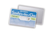 Smiles to Go Travel Dental Floss on Card