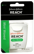 Reach J & J Dental Floss Waxed Mint 55 Yd