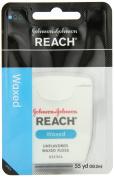 Reach J & J Dental Floss Waxed 55 Yd