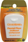 Good Sense Unwaxed Dental Floss 100Yd Case Pack 36