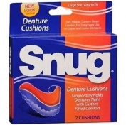 Snug Denture Cushions - 2 ea by Mentholatum