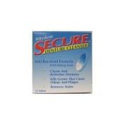SECURE DENTURE ADHESIVE DENTURE CLEANSER 32 TAB 1-EA