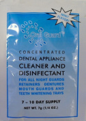 Oral Guard Dental Appliance Cleaner and Disinfectant for all Night Guards, Retainers and Dentures. 3 MONTH SUPPLY