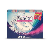 Efferdent Denture Cleanser - 240 tablets - CASE PACK OF 2
